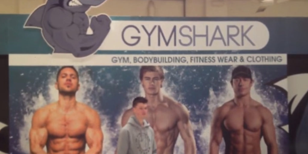 Ben Francis at the build for the first Gymshark Bodypower stand